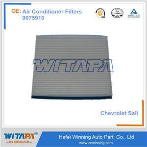 AIR CONDITIONER FILTERS 9075910 FOR CHEVROLET SAIL