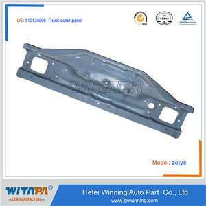 TRUNK OUTER PANEL 5101300-06 FOR ZOTYE