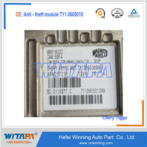 Anti - theft module T11-3605010  Chery tiger