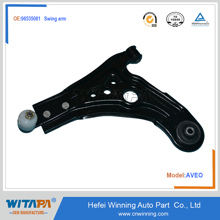 control arm for chevrolet aveo 96535081